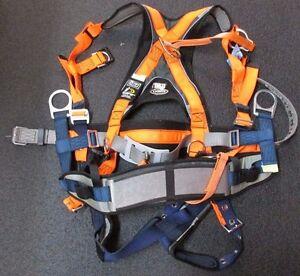 New Nos Dbi sala 1103044 Xxl Safety Harness Tb Tc 2d Hv 2 18 ex Pd Blt Sstrp Exo