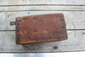 1909 1913 Ford Model T Heinz Wooden Coil Box