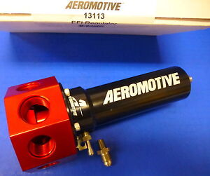 Aeromotive 13113 Fuel Pressure Regulator Efi Bypass 40 100 Adjustable Belt Hex