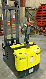 G941 Cb25 Electric Counter balance Stacker Pallet Jack Lift 2200 3000 35000lb