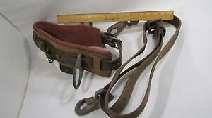 Tree Climbing Linemen Arborist Safety Belt Size 38 2951 6 Ft Positioning Belt