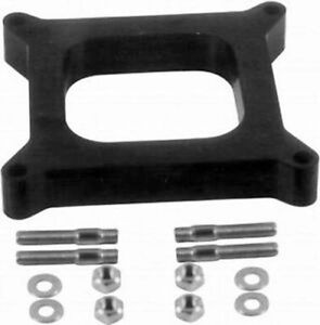 Open Carb Spacer 4150 4160 Holley Carburetor 1 2 Phenolic Studs R9139