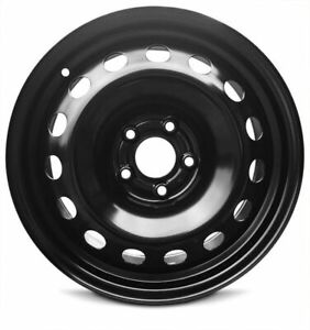 2015 2019 Jeep Renegade 16x6 5 Inch Full size Black New Replacement Wheel Rim