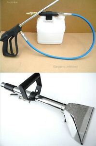 Carpet Cleaning 19 Stair Tool Inline Sprayer Combo