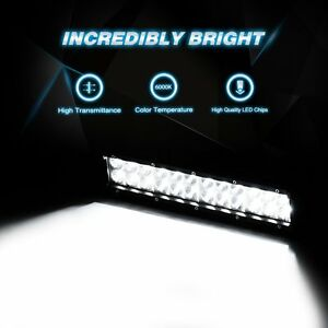 Light Bar Led Combo 12inch 72w Dustproof Waterproof Indoor Outdoor Off Road Boat