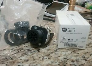 Allen bradley 800h jr2a 3 Position Selector Switch New Free Ship