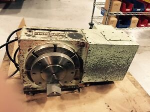 Tanshing Rotary Table With Tail Stock Hydraulic Break Mrnc 320 Mrnc320 Used