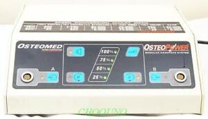 Osteomed Osteopower Power Control Console 450 0002 Modular Handpiece System