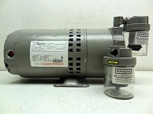Thomas Compressor Vacuum Pump P n 291253 Model Ta 0100 v 3 4hp 3 Phase New