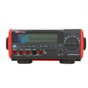 Uni t Ut804 Digital Autoranging Bench Top Multimeter Max 39999 100khz Rs 232