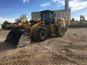 2014 Caterpillar 966m Wheel Loaders