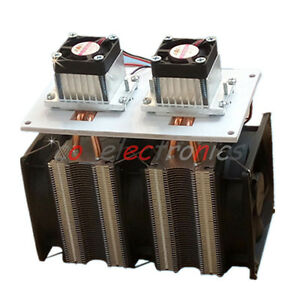 144w Dual chip Semiconductor Refrigeration Peltier Air Cooling Dehumidification