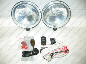 5 5 Round Universal Fog Driving Lamp Light Kit