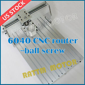 us Ship cnc 6040 Desktop Router Milling Engraving Machine Frame 80mm Clamp