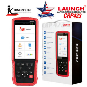 Launch X431 Crp423 Obdii Diagnostic Scanner Obd2 Creader Vii Update Abs Epb Sas