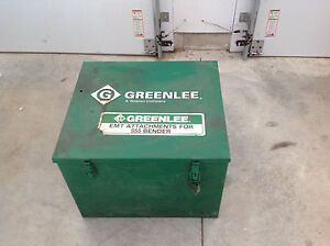 Greenlee 23818 1723 Steel Storage Box For Shoe Units 555 Electric Bender