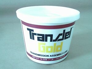 Transjel Gold Transmission Assembly Lube 1 Lb Tub Spx Filtran