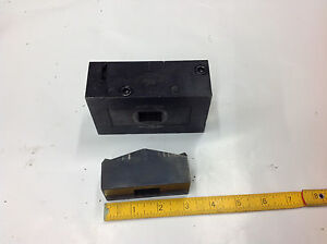 Greenlee 60063 60064 Rectangular Knockout Die Punch 1 378 By 3 228 Used