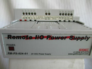 Sixnet 110 Power Supply Remote Trak rs485 Modus 1 0 Modules Rm ps 024 01