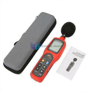 Uni t Ut351 Ut 351 Noise Sound Level Meter Tester 30 To 130db