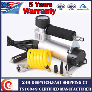 Heavy Duty Portable Compressor Electric Car Tire Air Inflator Pump 12v 150psi