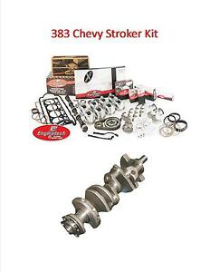 Enginetech Sbc Chevy 383 Stroker Master Rebuild Kit W Crankshaft