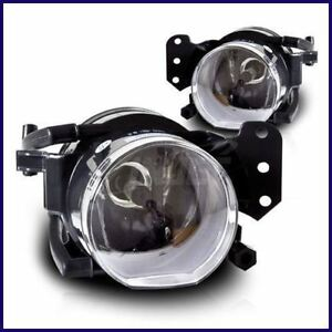 2004 2006 Bmw E83 X3 Oem Replacement Front Fog Lights Lamps Clear Pair Set
