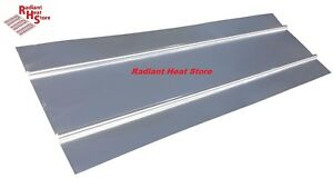30 16 Wide Aluminum Omega Radiant Heat Transfer Plates Wall Ceiling 4ft