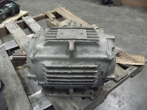 General Electric Motor 7 5 Hp Frame 215t