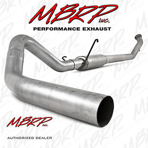 Mbrp 4 Turbo Back Exhaust Fits 04 5 07 Dodge Ram 2500 3500 Cummins 5 9l Diesel