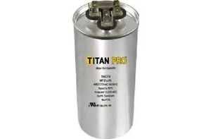 Titan Trcfd355 Dual Rated Motor Run Capacitor Round Mfd 35 5 Volts 440 370