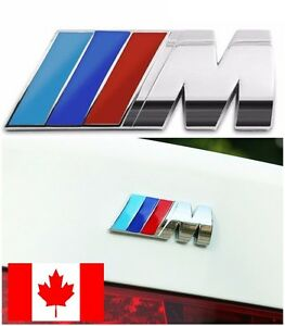 Metal Bmw M power M3 M4 M5 M6 Badge Emblem Car Side Rear Trunk 3 25 Inch