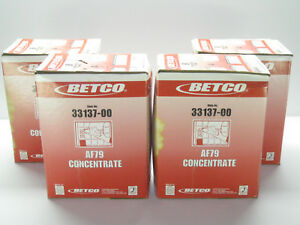 4x 4 Liter Boxes Of Betco Fastdraw 2 Af79 Concentrate Bathroom Cleaner 33137 00