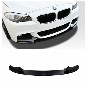 Bmw M Performance Style Front Lip Spoiler For Bmw F10 Mtech M Sport Bumper 2011