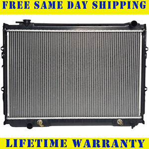 Radiator For 1993 1998 Toyota T100 L4 2 7l V6 3 4l Fast Free Shipping
