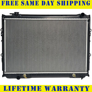 Radiator For Toyota Fits T100 2 7 3 0 3 4 L4 4cyl V6 6cyl 1512