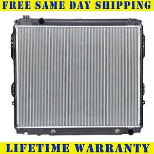Radiator For Toyota Fits Tundra 4 7 V8 8cyl 22 5 8 Inch Core Height 2321