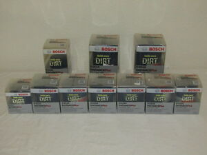 Bosch Engine Oil Filter Lot Of 10 Filters Nib Wholesale Bulk Distance Plus