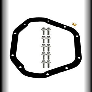 Dana 60 Rear End Cover Gasket And Bolts Fits Ford Dodge Chevy Differential