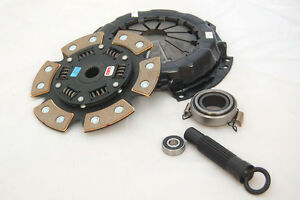 Competition Stage 4 Clutch Kit 94 Acura Integra Gsr B18c1 Six Puck Sprung Race