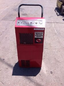 Robinair 17500b Refrigerant Recovery And Recycling Station R12 R22 R500 R502