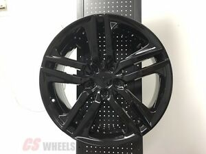20 Hfp Style Accord Sport Fits Honda Civic Si New Gloss Black Alloy Wheels