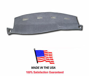 Gray Carpet Dash Cover Compatible W 2003 2005 Dodge Ram Pick Up 1500 Do1 0