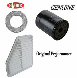Tune Up Kit Air Oil Filters Plug Gasket For Toyota Corolla Xrs 2 4l 2008 2010
