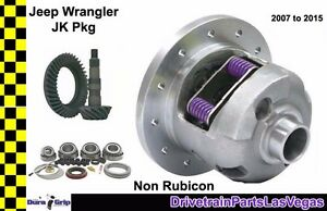 4 11 Ratio Jeep Wrangler Jk 2007 2018 Dana 44 Yukon Posi Package Gears Posi Kit