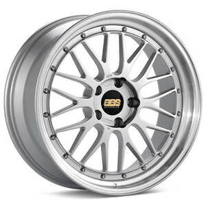 Bbs Lm Silver With Polished Lip 17x8 5 18 5x120