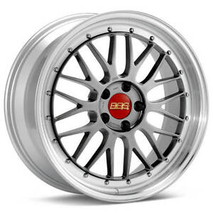 Bbs Lm Black With Polished Lip 19x11 25 5x120