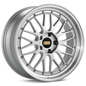 Bbs Lm Silver With Polished Lip 19x8 5 50 5x130