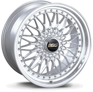 Bbs Rs Silver With Polished Lip 19x9 20 5x120