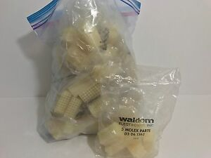 90 Factory Sealed Waldom Molex Circular Connectors 03061362